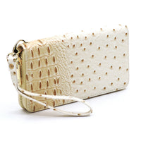 Ostrich Croc 2-in-1 Backpack OS1082W BEIGE
