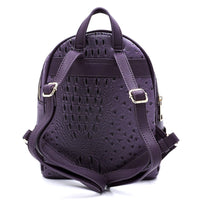 Ostrich Croc 2-in-1 Backpack OS1082W STONE