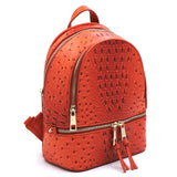 Ostrich Croc 2-in-1 Backpack OS1082W TANGERINE