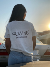WHITE YACHT CLUB T-SHIRT