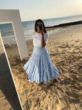 BLUE WAVES SKIRT
