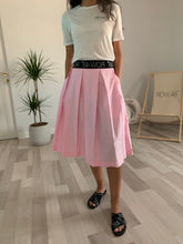 PINK SHORT LOGO SKIRT