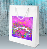 tie dye hippy bat mitzvah birthday bag 4 favor welcome goody