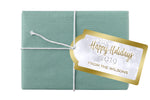 (sku371a) winter gift tag | holiday hang tag | Christmas gift tag | holiday party favor tag - Best Welcome Bags
