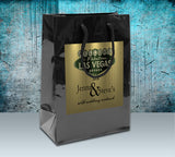 (sku533) Gold or Silver Las Vegas Welcome Bags | Best Welcome Bags