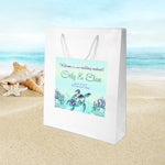 (sku437) Sea turtle | wedding welcome bag | hotel guest gift bags | beach party favor - Best Welcome Bags