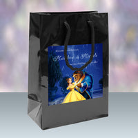 (sku613) Disney's Beauty and the Beast Wedding Welcome Bags | hotel guest gift bags - Best Welcome Bags