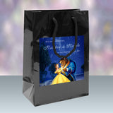 Disney's Beauty n The Beast wedding welcome bag 4 hotel guest