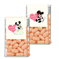 (sku656) Mickey and Minnie Mouse TicTac label | wedding favor | Tic Tac wrapper - Best Welcome Bags
