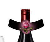 Beauty n The Beast Rose wine beer champagne bottle neck ring