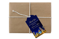 Chicago hang tag for welcome wedding favor hotel guest gift bag