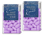 (sku691a) Denim + Diamonds TicTac label | candy wrapper | Tic Tac container sticker - Best Welcome Bags