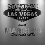 (sku532) Las Vegas wedding | Gold or Silver | Welcome Bag labels | Gable box stickers - Best Welcome Bags