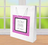 (sku716) Any color chevron Welcome Bags | hotel guest gift bags | Mitzvahs | birthday party - Best Welcome Bags