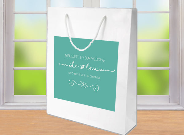 (sku311) Any colors | welcome bag | hospitality bag | hotel guest gift bags | wedding favor bag - Best Welcome Bags