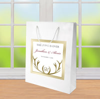 (sku296) The Hunt is Over | wedding welcome bag | hotel guest gift bags | party favor - Best Welcome Bags