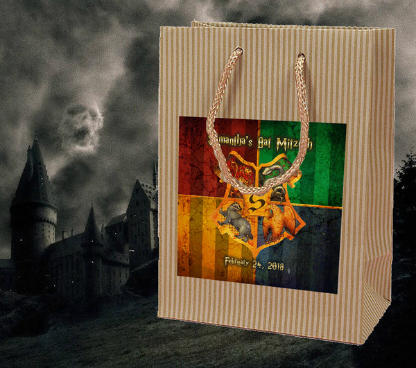 (sku669c) Harry Potter welcome bag | birthday party goody bags | mitzvah favor bags - Best Welcome Bags