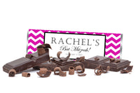 (sku720) Any color chevron | Hershey chocolate bar wrapper | birthday candy labels - Best Welcome Bags