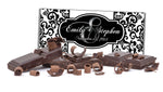monogram n black damask Hershey chocolate candy bar wrapper