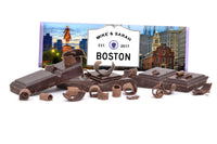 Boston MA custom Hershey's chocolate bar wrapper