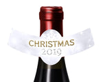 (sku373) Christmas bottle neck ring | holiday bottle label | bottle neck sticker - Best Welcome Bags
