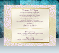 (sku271a) Indian printed note card | Hindi wedding welcome note | pick color | thank-you card - Best Welcome Bags