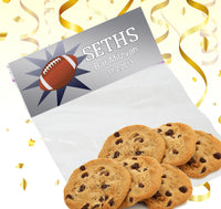 (sku677) goody bag toppers | party favor bag | football team snack | candy bags - Best Welcome Bags