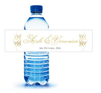 (sku228) Personalized water bottle label in your colors