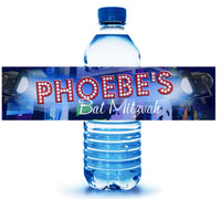 (sku710) custom Broadway water bottle labels | theater stickers | Broadway labels - Best Welcome Bags