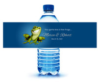 (sku594) Princess + The Frog water bottle label | custom bottle stickers | party label - Best Welcome Bags