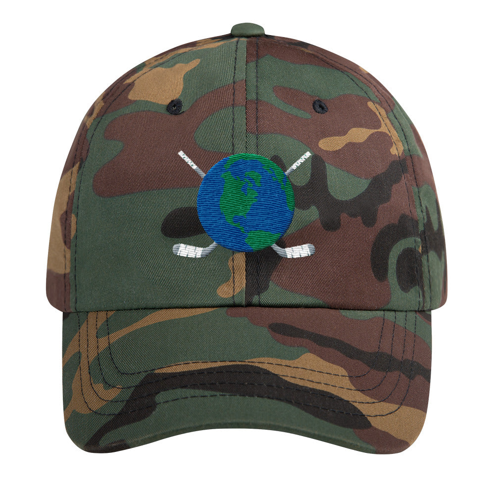 Camo Hat with Logo