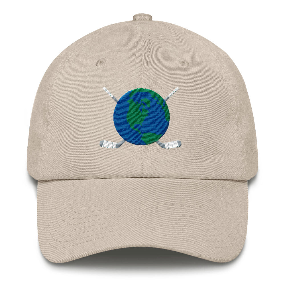 Dad Hat with Back Logo