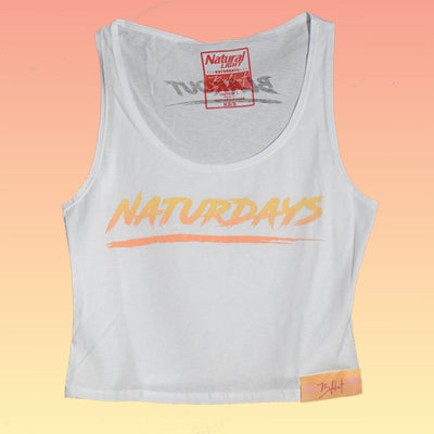 Naturdays X Blakout Womens Crop Tank