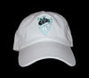 Frozen Heart Society Dad Hat (White)