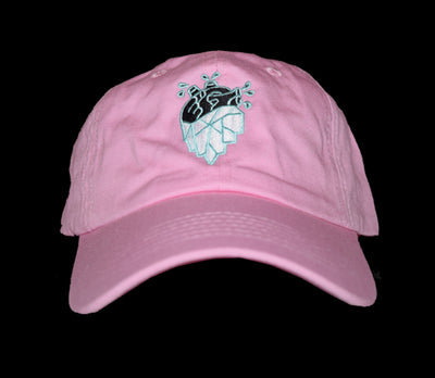 Frozen Heart Society Dad Hat (Pink)