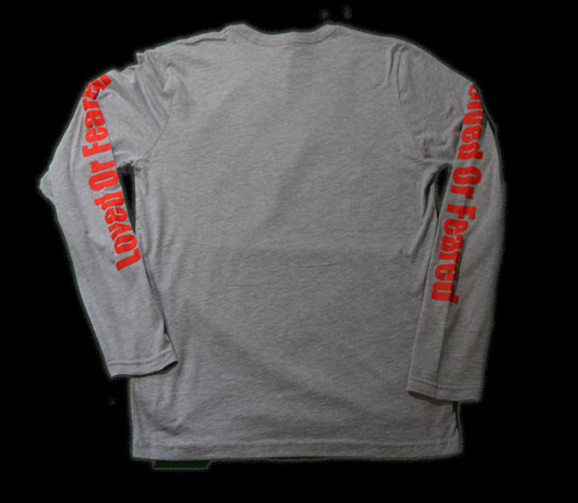 Loved Or Feared Long Sleeve (Gray)