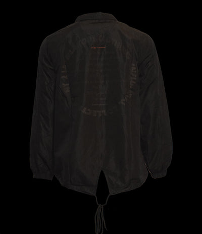 Ten Blak Commandments Coach Jacket