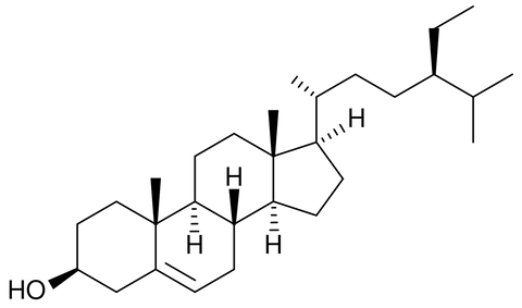 Chemical structure of Sitosterol