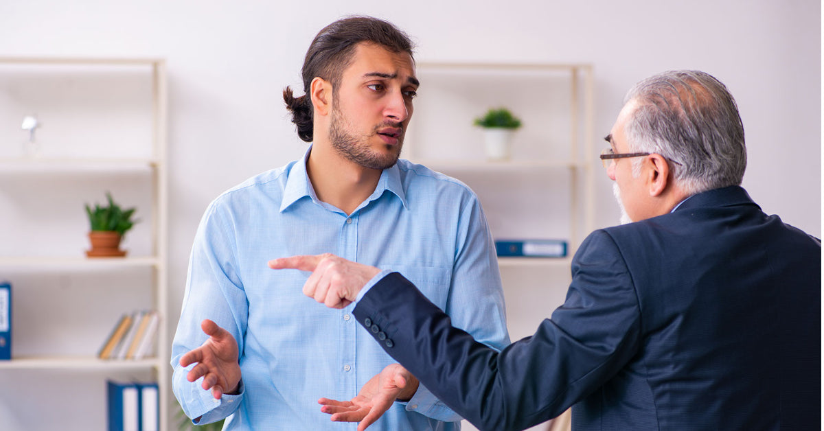 man being put down with low self esteem