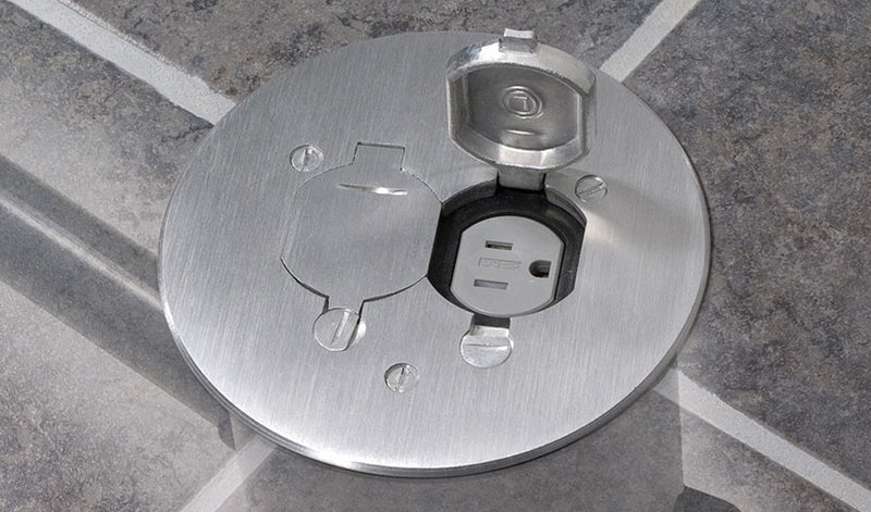 Shop For Recessed Concrete Poke Through Electrical Floor Box Outlet