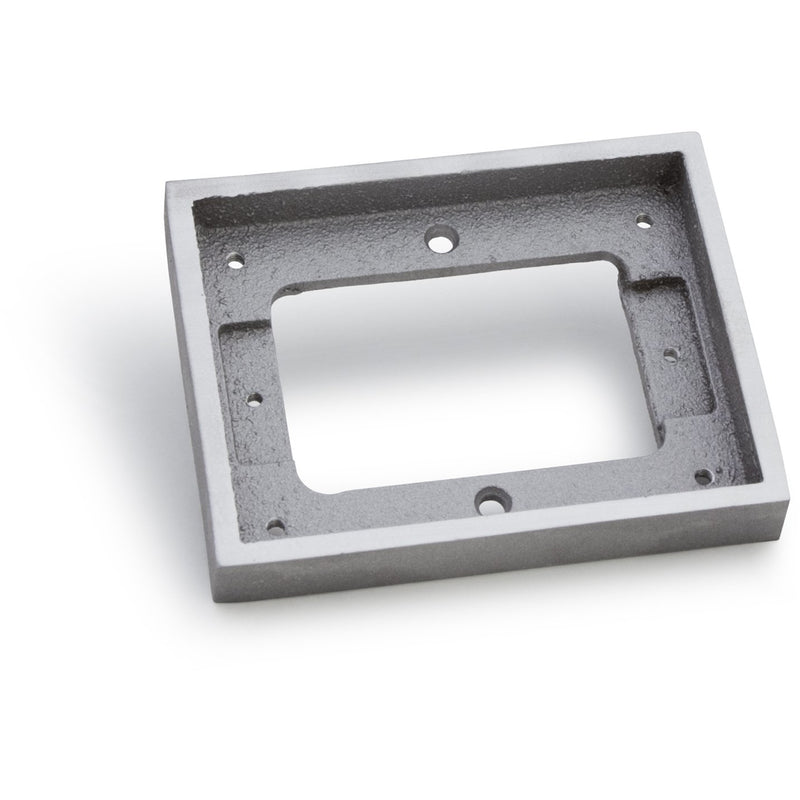 One Gang Tile Flange for 1100 Series Floor Boxes - Aluminum