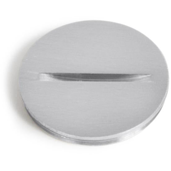"Lew Electric 6215-A 1.5"" Aluminum Screw Plug Cover for PB Floor Boxes"