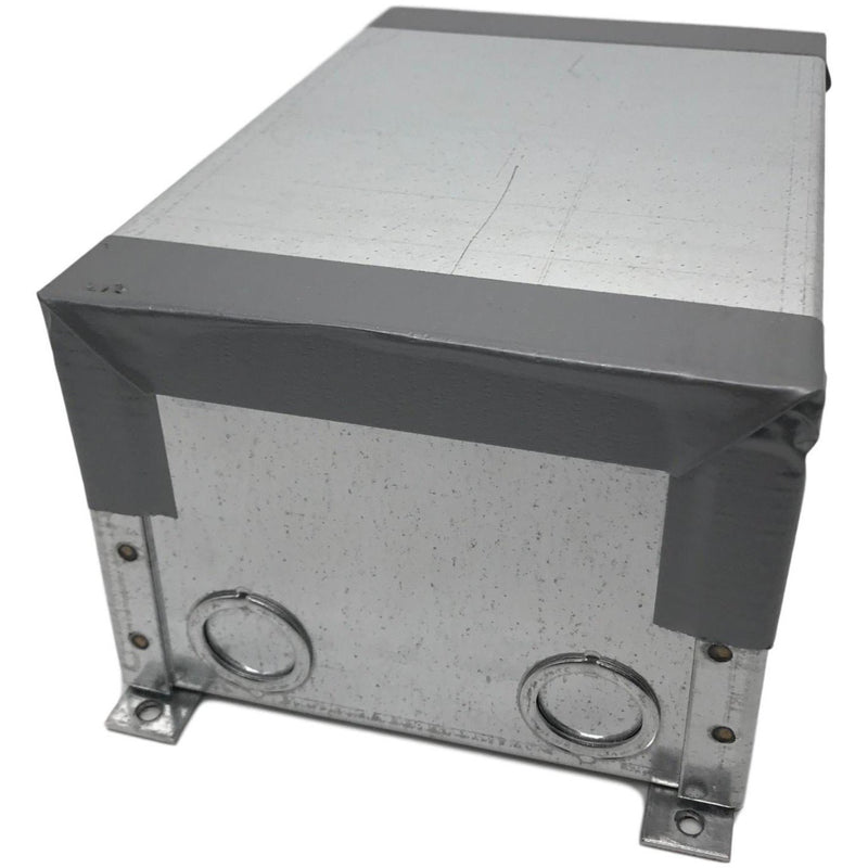 Lew Electric CF9CFF Concrete Floor Box, showing cover for installation / protection during concrete pour