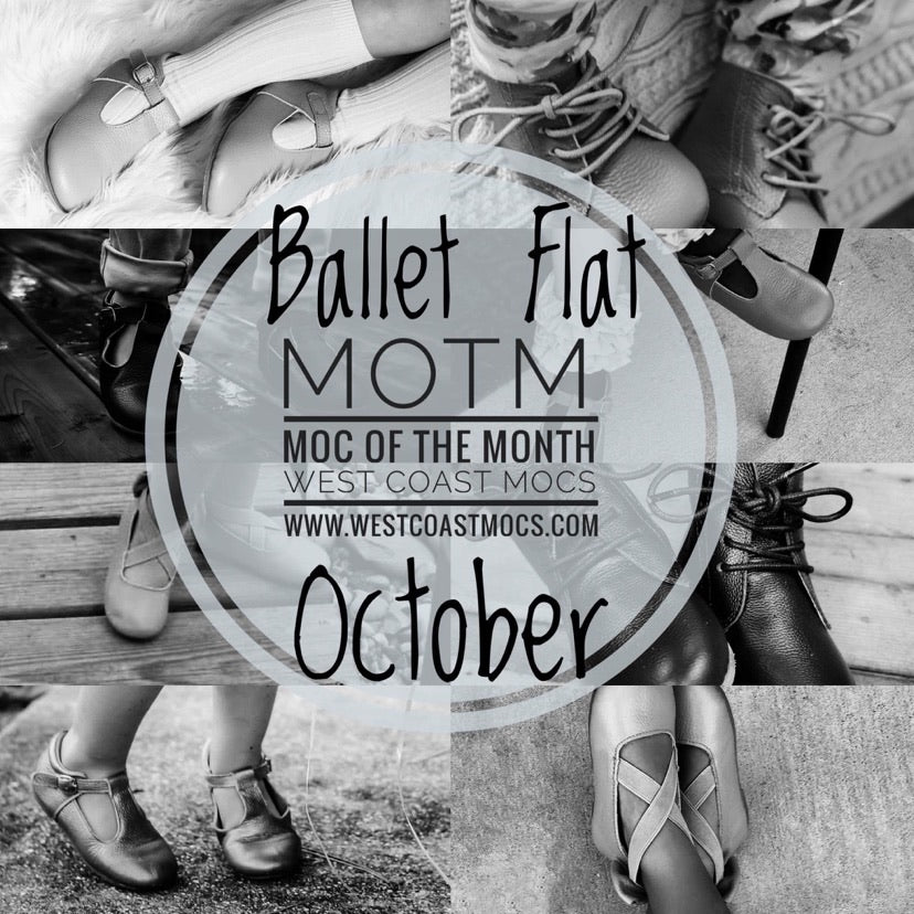 BALLET FLAT Moc of the Month - October