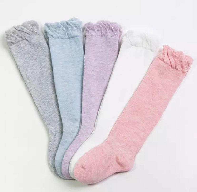 Knee Socks - Spring colours