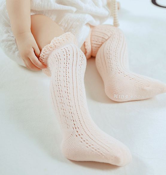 Crochet Knee Socks - 4 colours
