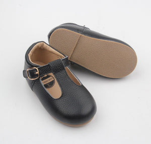 Mary Jane Hard Sole - Onyx Black