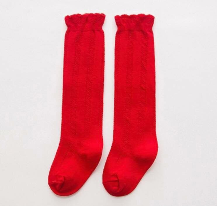 Knee Socks - Red