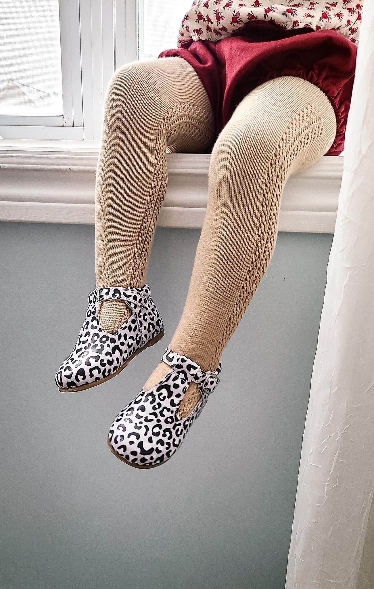Open work crochet tights - 5 colours - westcoastmocs