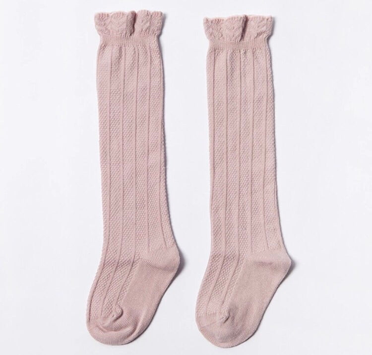 Knee Socks - Blush